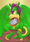 Dragon Laid. by Smudge-Proof
