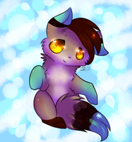 Commission - Rae by pinkfrilly