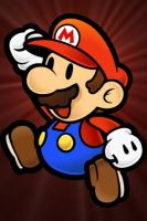 Mario Background for iPhone by XDeadXGargoyleX
