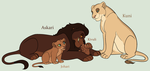 Lion King Family Adoptables 3 *CLOSED* by acornheart465