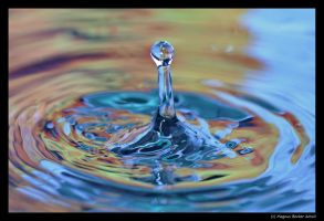 Water drops 4 by Lugenboy