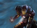 Iron Man speedpainting by buzzelliArt