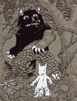 Where the Wild Things Are by Steevcomix