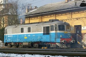 Sulzer loco in Gyor station by morpheus880223