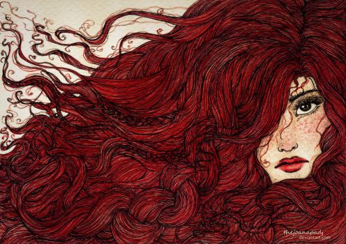 Red for Axelle by TheJoanaPADJ