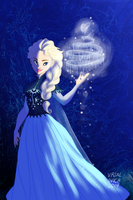 Queen Elsa by Bonequisha