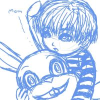 SH4_Lil Walter and rabbit by LuCiFelLo