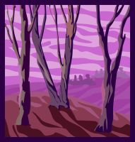 purple.trees by coolingj7j77