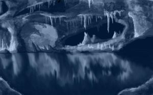 Blue Cave by Elophant