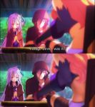 Screenshot re-draw No game no life by kotorikurama