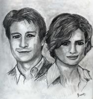 Faily sketch of Castle Beckett by StandsWithAPencil
