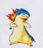 #157 - Typhlosion by GTS257-CT