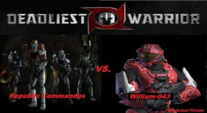 Deadliest Warrior RC vs. William-043 by Lord4536