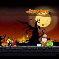 Angry Birds Seasons iPad Background by sal9