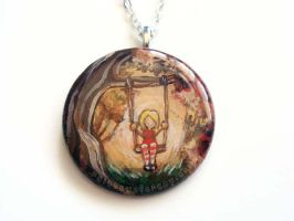 Autumn Swing Pendant 2 by sobeyondthis