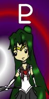 Sailor Pluto Bookmark by CynicalSniper