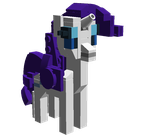 Lego Rarity by WhovianBron3