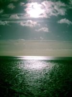 Sun over the English Channel by smiffypro