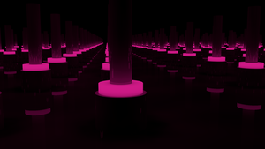 Unlimited room. Pink version by tobber103