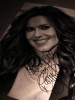 Cheryl Cole Signed by Charlzton