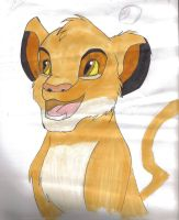 Disney lion king Simba by grapsen