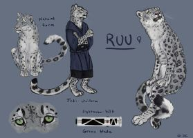 Ruu Reference by TruBlueArt