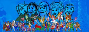 filmation heroes bookend by AlanSchell