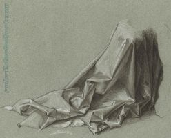 Drapery Study Durer by AmBr0