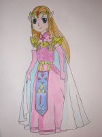 Princess Zelda: Oracle Series by Dreams-of-Impact