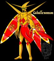 Caballeromon by TheDocRoach