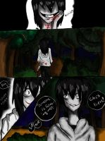 Lost in the forest slenderman's kingdom part 1 by floriyon