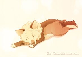 Sleepy Aapi by x-RainFlame-x