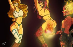 Fire and Frost ...Pants on Fire by TheBadLieutenant