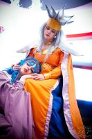 Chrono Trigger - Mother and Daughter by LiquidCocaine-Photos