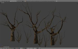 Decayed trees and bushes by betasector