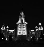 Moscow State University 3 by HaeMa