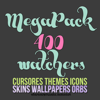 MEGAPACK 4OO Watchers {Personalizacion}. by whereveryousmile