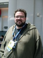 Kevin Smith at the Con by mjac1971