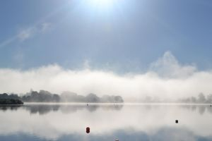 Amazing morning on the lake by Zazte