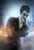 THE JOKER by SallibyG-Ray