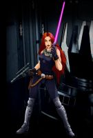 Mara Jade Skywalker by BlackDanieL