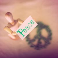 Peace for peas by Bucikah