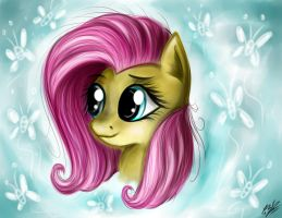 Fluttershy by B---K