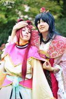 Kougyoku and Gyokuen -Magi: The Labyrinth of Magic by Fuchsherz
