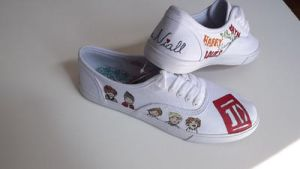 One Direction shoes 2 by ciencianalove