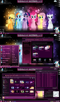 My Little Pony Theme Preview by TheBronified