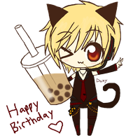 Happy Birthday 96Neko! by DazyCat