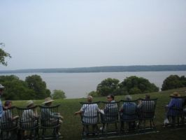 Potomac River at Mount Vernon by Archanubis