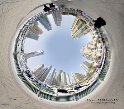 Dubai Panorama by MohammedJ1