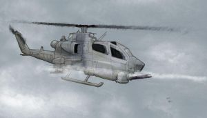 AH-1 Cobra by randychen
